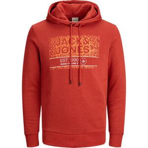 Jack & Jones Sweatshirt, Kapuze, Tunnelzug, Print, für Herren
