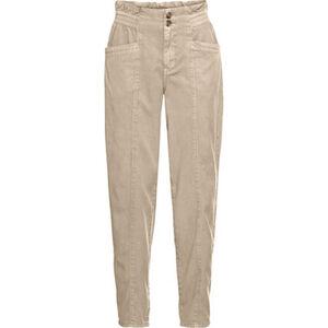 Esprit Stoffhose, tailliert, hoher Bund, uni, Seitentaschen, für Damen