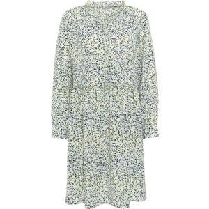 MANGUUN Kleid, Midi, florales Muster, für Damen
