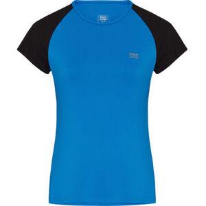 TAO T-Shirt, Rundhals, zweifarbig, für Damen