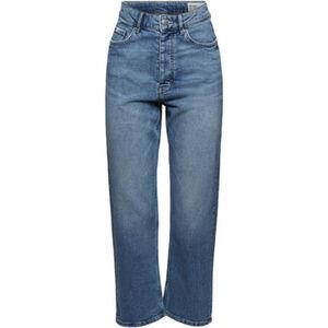 edc by Esprit Jeans, Straight, uni, 5-Pocket-Form, für Damen