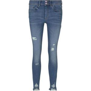 Tom Tailor Denim Nela Extra Skinny-Jeans, Destroyed-Details, für Damen