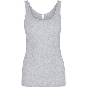 Speidel Unterhemd, Ärmellos, uni, U-Ausschnitt, Baumwolle, für Damen