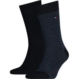 """Tommy Hilfiger Socken """"Small Stripe Sock"""", 2er-Pack, geringelt, uni, für Herren"""