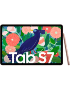 Samsung Galaxy Tab S7 LTE 128GB bronze mit green Data XL mit Hardware 10