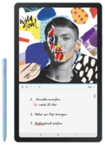Samsung Galaxy Tab S6 lite LTE 64GB blue mit Internet-Flat 12.000 mit Hardware 10
