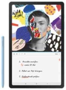 Samsung Galaxy Tab S6 lite LTE 64GB blue mit green Data L mit Hardware 10