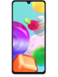 Samsung Galaxy A41 64GB weiß mit Free unlimited Basic