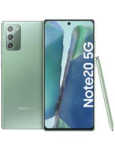 Samsung Galaxy Note20 5G 256GB grün mit Magenta Mobil S