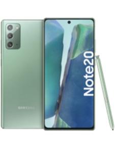 Samsung Galaxy Note20 256GB grün mit green LTE 10 GB