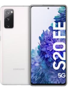 Samsung Galaxy S20 FE 5G 128GB weiß mit green LTE 26 GB