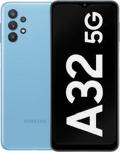 Samsung Galaxy A32 5G 64GB Awesome Blue mit green LTE 10 GB