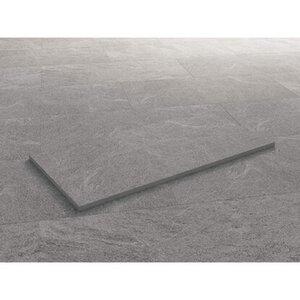 Terrassenplatte Feinsteinzeug Vero 2.0-Steinoptik Grau 50 x 100 x 2 cm