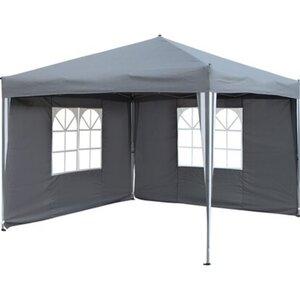 Faltpavillon Pontino Grau 295 cm x 295 cm