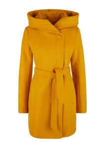 Damen Mantel in Woll-Optik