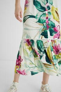 Midi-Hemdblusenkleid