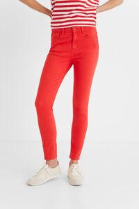 Skinny Jeans knöchellang