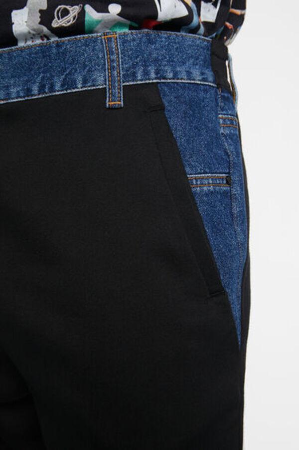Jogginghose Sweatstoff Jeans
