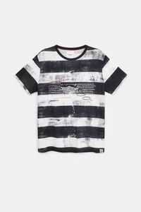 Streifen-Shirt 100% Baumwolle