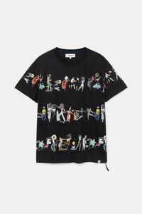 Arty T-Shirt 100% Baumwolle