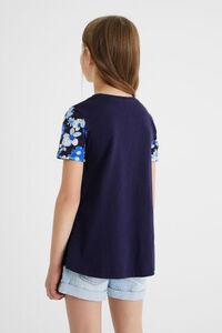 T-Shirt Tüll-Stofflage