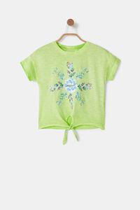 Baumwoll-Shirt Knoten