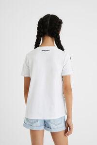 T-Shirt Muster Wende-Pailletten
