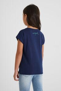 Baumwoll-Shirt Mini-Glasperlen