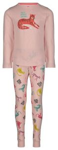 HEMA Kinder-Pyjama, Tiger Hellrosa