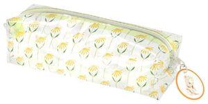 HEMA Täschchen, Transparent, Blumen