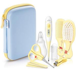 Avent Babypflegeset , Sch400/00 , Blau, Gelb, Klar, Weiß , Kunststoff , 11.7x17.5x5.1 cm , 007849009101