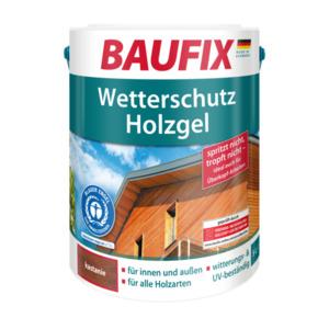 Baufix Wetterschutz-Holzgel Kastanie