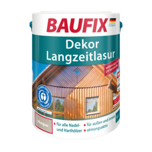 Baufix Dekor-Langzeitlasur silbergrau