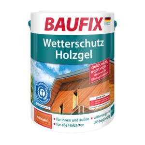 Baufix Wetterschutz-Holzgel Mahagoni