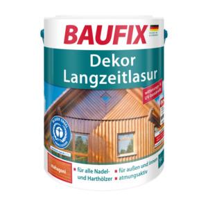 Baufix Dekor-Langzeitlasur Mahagoni