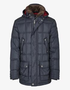 Bexleys man - Daunentouch-Jacke mit Fellkragen und Kapuze