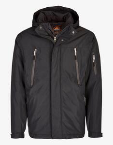 Eibsee - Jacke mit Fleece-Kapuze und Details