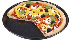 chg Pizzablech rund Emaille