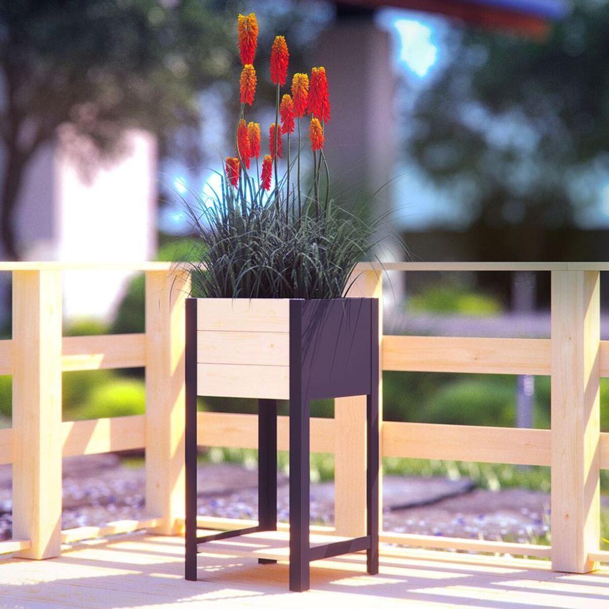 Bild 1 von Blumenkübel Modern-Box High 36x72x36cm