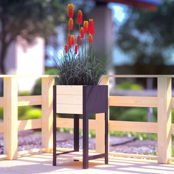 Blumenkübel Modern-Box High 36x72x36cm