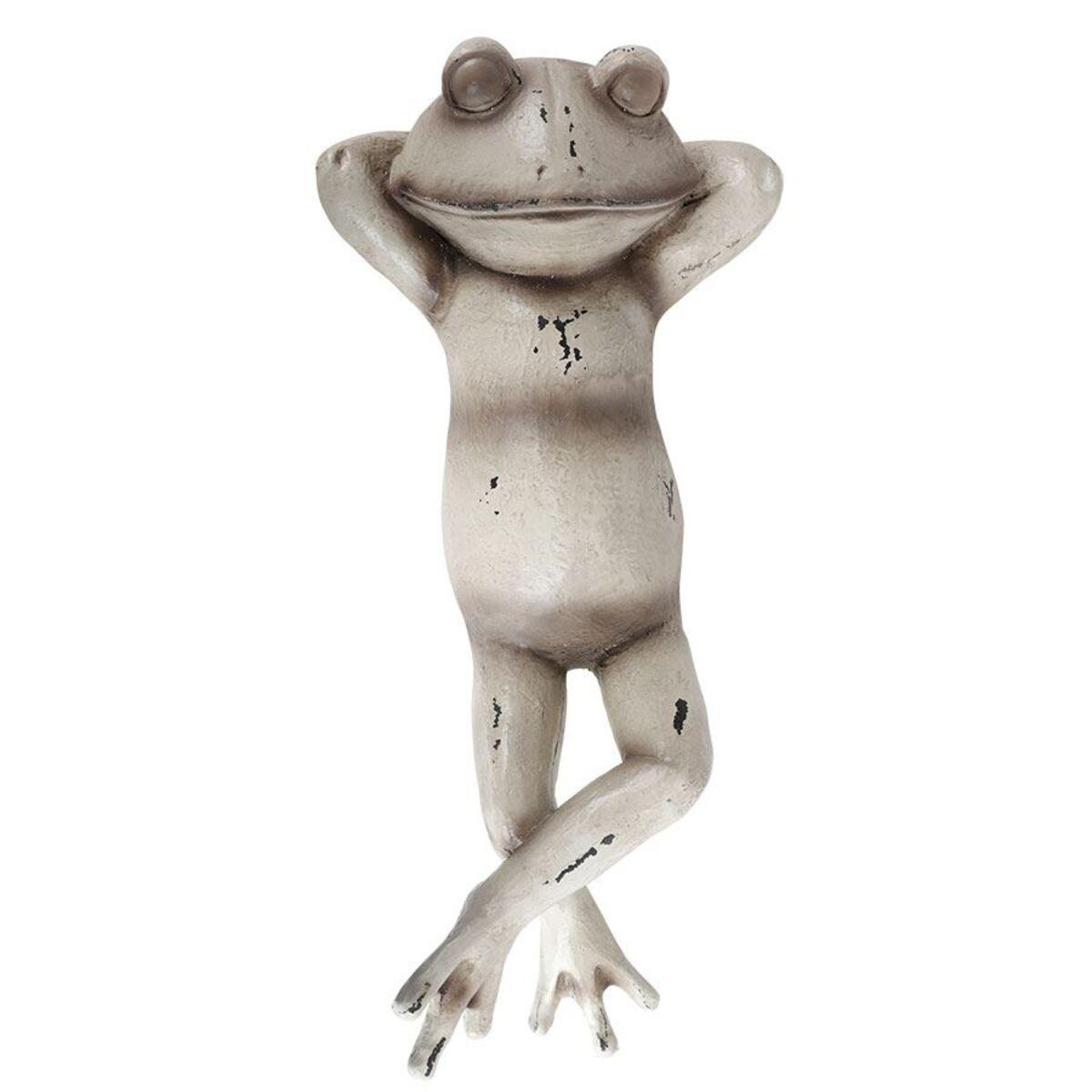 Bild 2 von Dekofigur Liegender Frosch 38x9,5x17cm