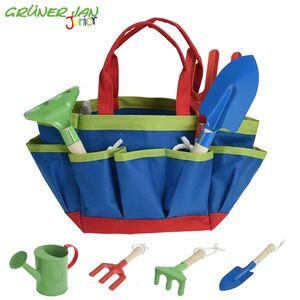 Grüner Jan Junior Kinder-Gartenwerkzeug 5-teilig