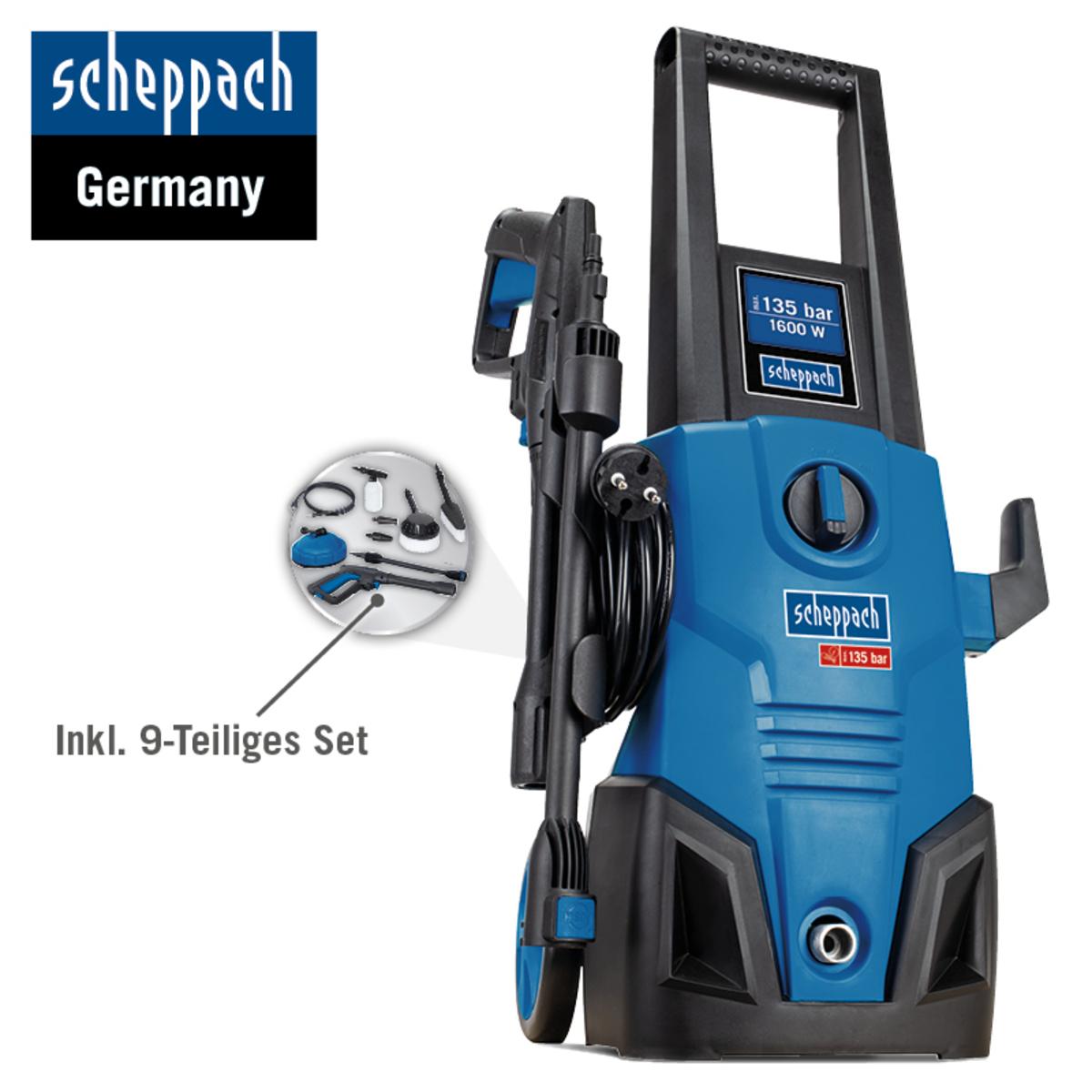 Bild 2 von Scheppach Hochdruckreiniger HCE1600 SE