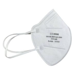 Amec FFP2 Maske HT9580 CE 0598 zertifiziert mit Ohrschlaufe - 50 Stk in hygenischer Einzelverpackung