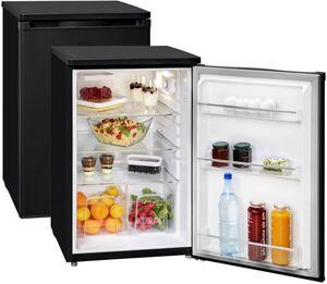 Exquisit Kühlschrank KS 16-9RVA++ MS - Mattschwarz