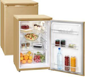 Exquisit Kühlschrank KS 16-9RVA++ CH - Champagnerfarben