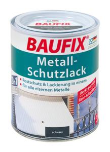 BAUFIX Metall-Schutzlack schwarz 1 L