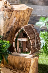 Little Friends Natur-Nisthäuschen - Ovale Nisthöhle