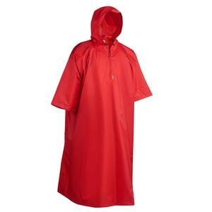Poncho Regencape Arpenaz 25L Kinder rot