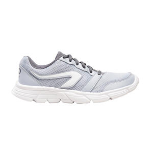 Laufschuhe Run100 Damen grau